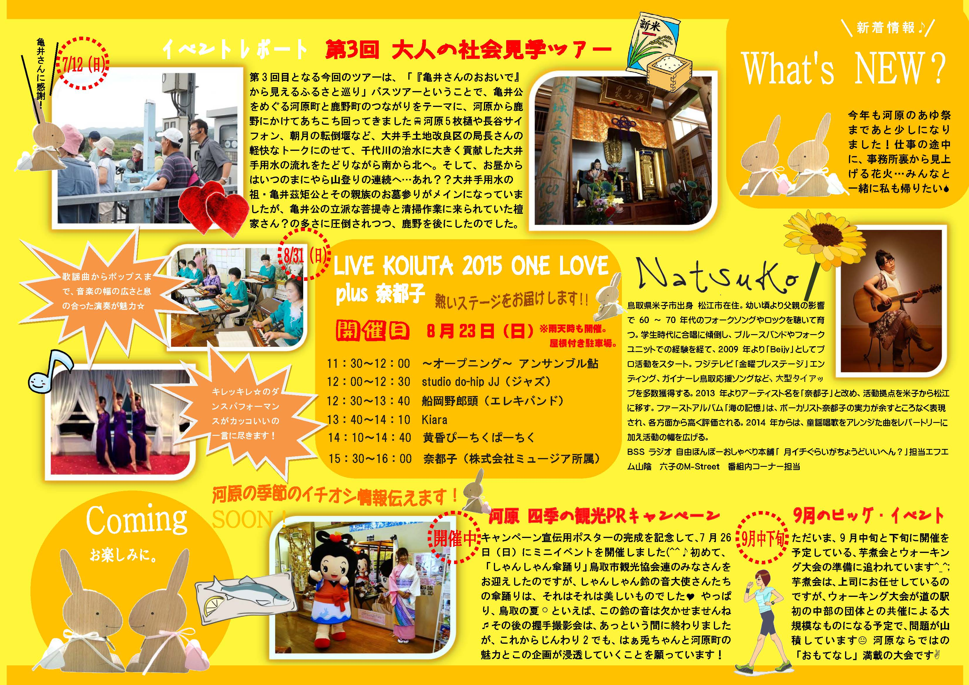 What's NEW?原稿№50